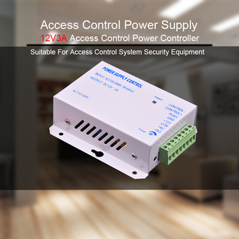 Eseye DC 12V 3A Access Control Power Supply Control AC 110~240V  Delay time max 15s High Quality RFID Door Access Control System цена 2017