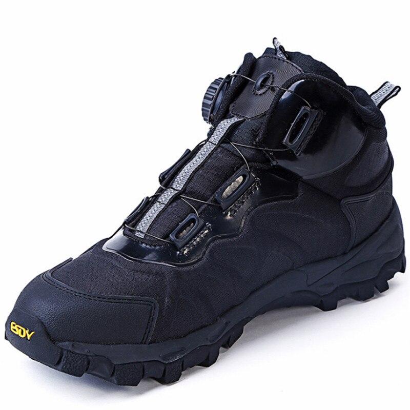 Bottes de Combat militaires tactiques en plein air réaction rapide bottes système de laçage neige randonnée Camping chaussures baskets légères