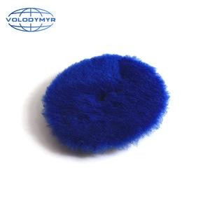 Image 2 - Volodymyr Wool Polishing Pad 6inch Blue with 5inch Hook and Loop for Polish  Polishing Car Polisher Buffer AccessoriesTools