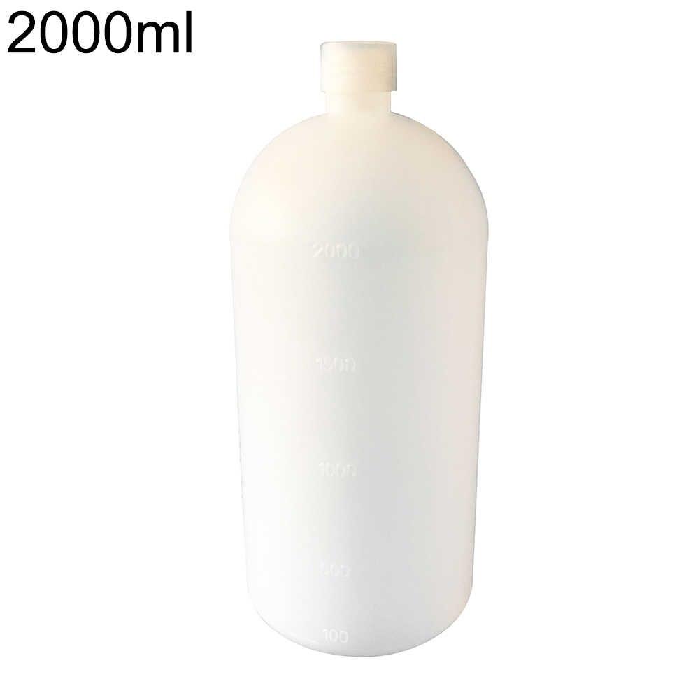 2000 Ml Nhựa Trong Phòng Dấu Hóa Học Chai Mẫu Chai Bình Trữ Nhà Lưu Trữ Tổ Chức