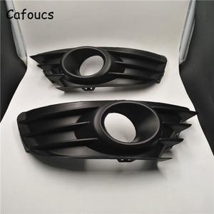 Image 2 - Cafoucs Car Front Fog Light Cover For Citroen C4 2004 2008 Fog Lamp Hood