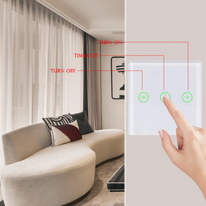Image 3 - EU UK curtain switch wifi wall switches Smart Roller Blinds Switch for Curtain motor home smart system