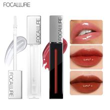 Focallure 9 Colors Plumper Moisturizing Formula Lip Gloss Non-sticky Glossy Soft Long-lasting Vatamin E Lips Makeup