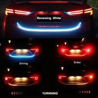 LED Streifen Für BMW E30 E38 E39 E46 E60 E61 E90 X1 X3 E70 E83 X5 F10 F11 F30 Auto zusätzliche Stop Licht Dynamische Streamer Schwimm