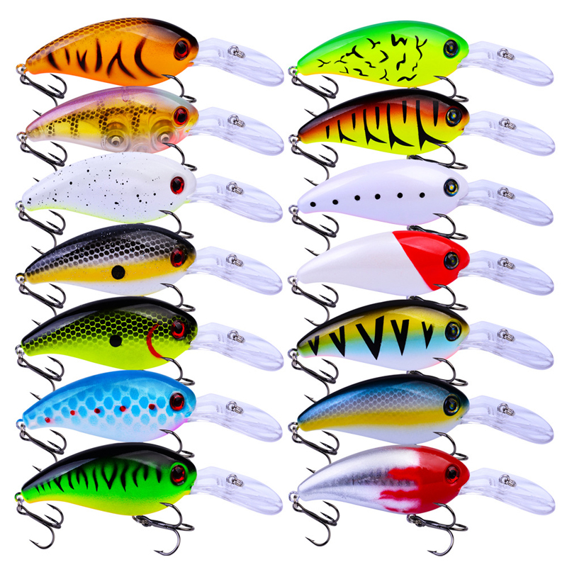 POETRYYI 10cm 14.5g Jerkbait Minnow Fishing Luresartificial Hard Bait Pike/Bass Mini Fish Wobblers Pesca Crankbait Carp Fishing