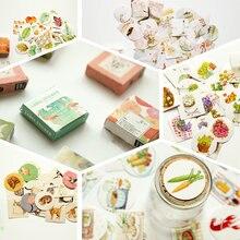 40 шт/кор милые этикетка для цветов милый дневник ручной работы
