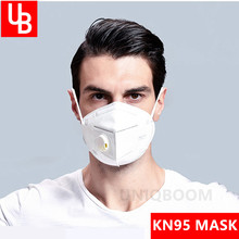 95% Filtration Face N95 Mask Nonwoven Air Valve Anti Virus Dust Mask PM 2.5 Respirator Mouth Mask With Valve Gauze filter Mask