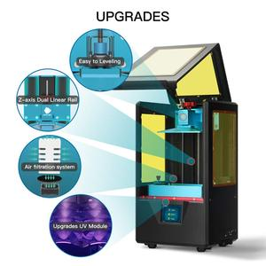 Image 4 - ANYCUBIC Photon S 3D Máy In Dual Trục Z Nhanh Lát Cắt 405nm Ma Trận UV Mô Đun SLA 3d Máy In Nhựa Photon S Nâng Cấp Impresora 3d