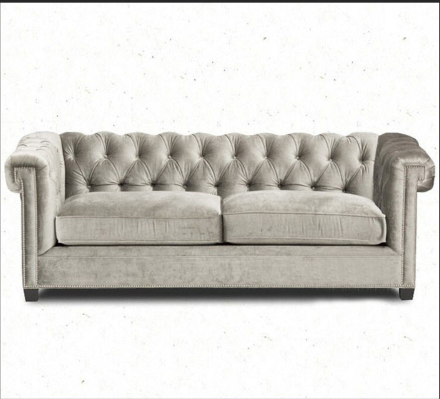 Sofa-Set Cloth-Fabric Chesterfield Living-Room 3-Seater Cama-Puff 1--2 Asiento Asiento
