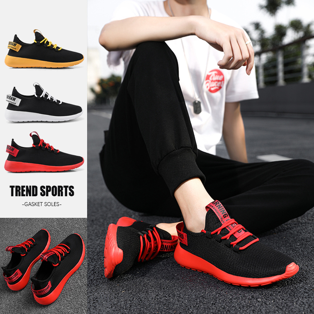 Sneakers Casual Pretu Ku Hel Pa Hende Homber 6
