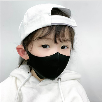 1PCS For 4-11 Years Kids Children Mouth Mask PM2.5 Air Dust Face Masks Washable & Reusable Mouth Cover