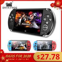 Nova chegada 5.0 Polegada tela grande jogador de jogo handheld suporte tv colocar para fora com mp3/filme câmera multimídia vídeo game console