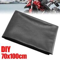 Neue Ankunft 1pc 70x 100cm Universal Schwarz Sitz Abdeckung Spezielle PVC-beschichtete abdeckungen Motorrad Roller Sitz Schutz