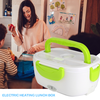 110v 220v Lunch Box Food Container Portable Electric Heating Food Warmer Heater Rice Container Dinnerware Sets For Dropshipping
