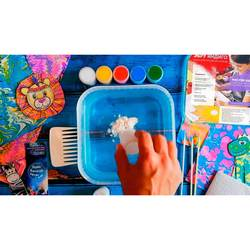 Set for drawing on water Ebru