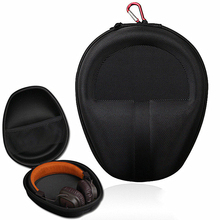 Large Headphone Case Pouch Protective Cover Portable Zippered Bag Hard For EVA folding