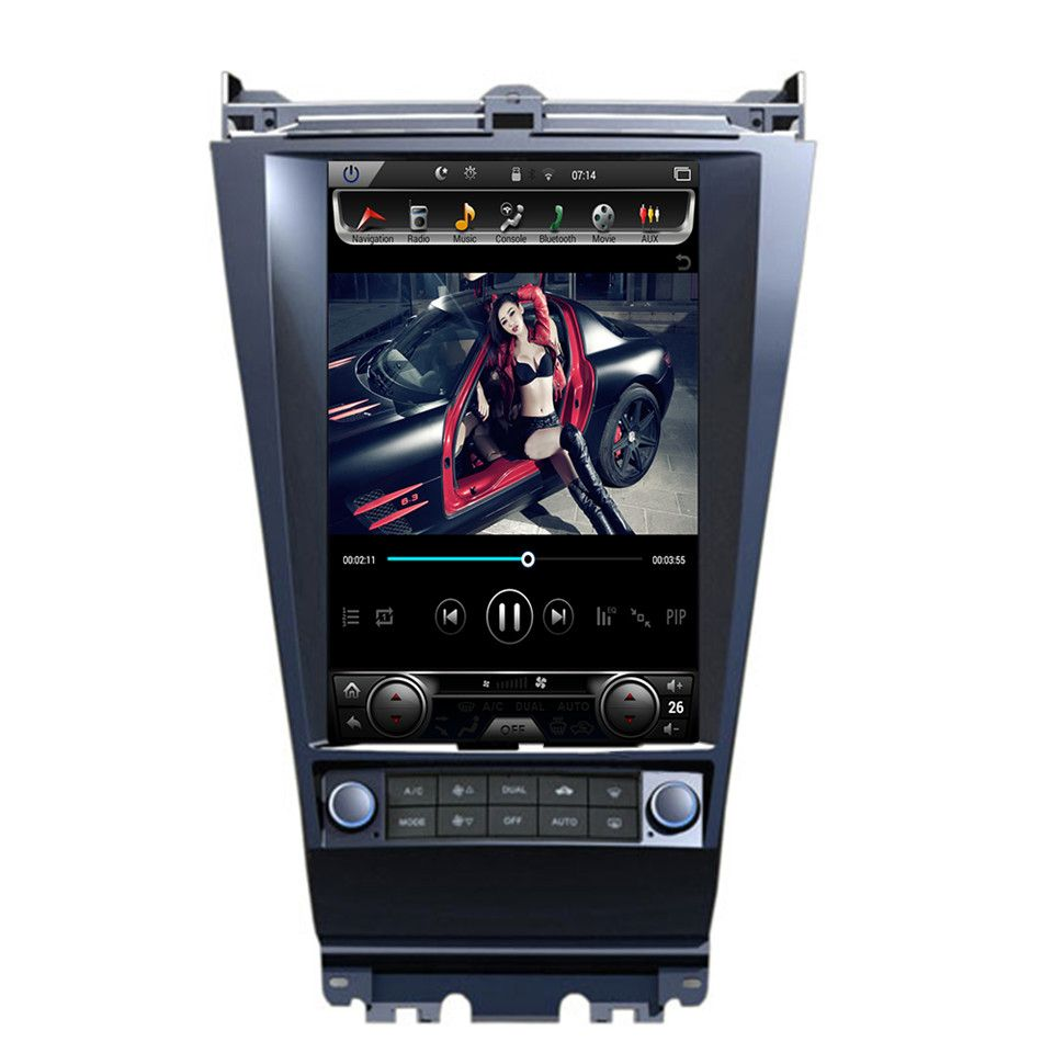Car Radio For <font><b>Honda</b></font> <font><b>Accord</b></font> car multimidia autoradio gps support Bluetooth Auto Radio parktronic 2 Din navigation RDS BT 2002 image