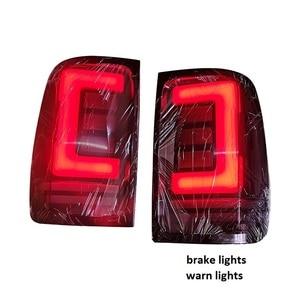 Image 2 - Luces led traseras para coche, luces traseras con señal de giro, aptas para vw amarok v6