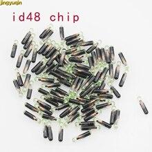 Jingyuqin 1 pçs/lote ID48 T6 Crypto Transponder Chip Chave Do Carro Desbloqueado Para VW Para Audi Para Seat Para Skoda Para Porsche Auto Fob