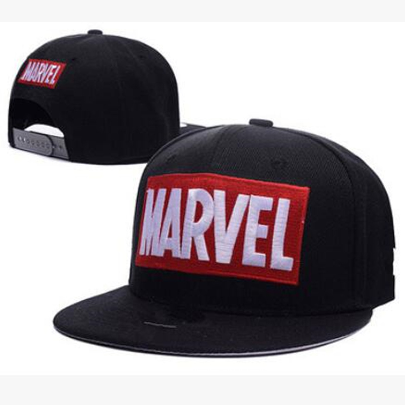 2020 New MARVEL Patch Embroidered Baseball Cap Unisex Wild Cotton Hip Hop Hat Personality Wild Casual Hats Snapbacp Caps