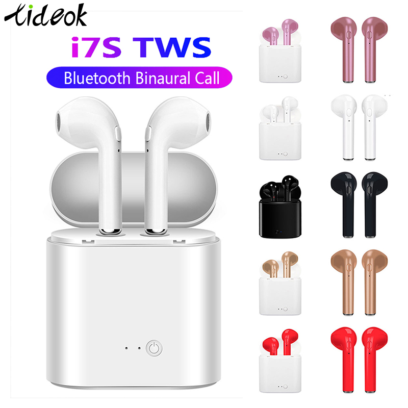 I7s TWS Bluetooth Earphone Stereo Earbud Bluetooth Headset With Charging Pod Wireless Headsets For All Smart Phone