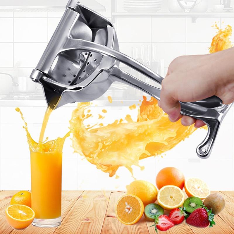 Aluminum Alloy Manual Fruit Juicer Pomegranate Juice Squeezer Pressure Lemon Sugar Cane Juice Kitchen Fruit Tool Kitchen Gadget