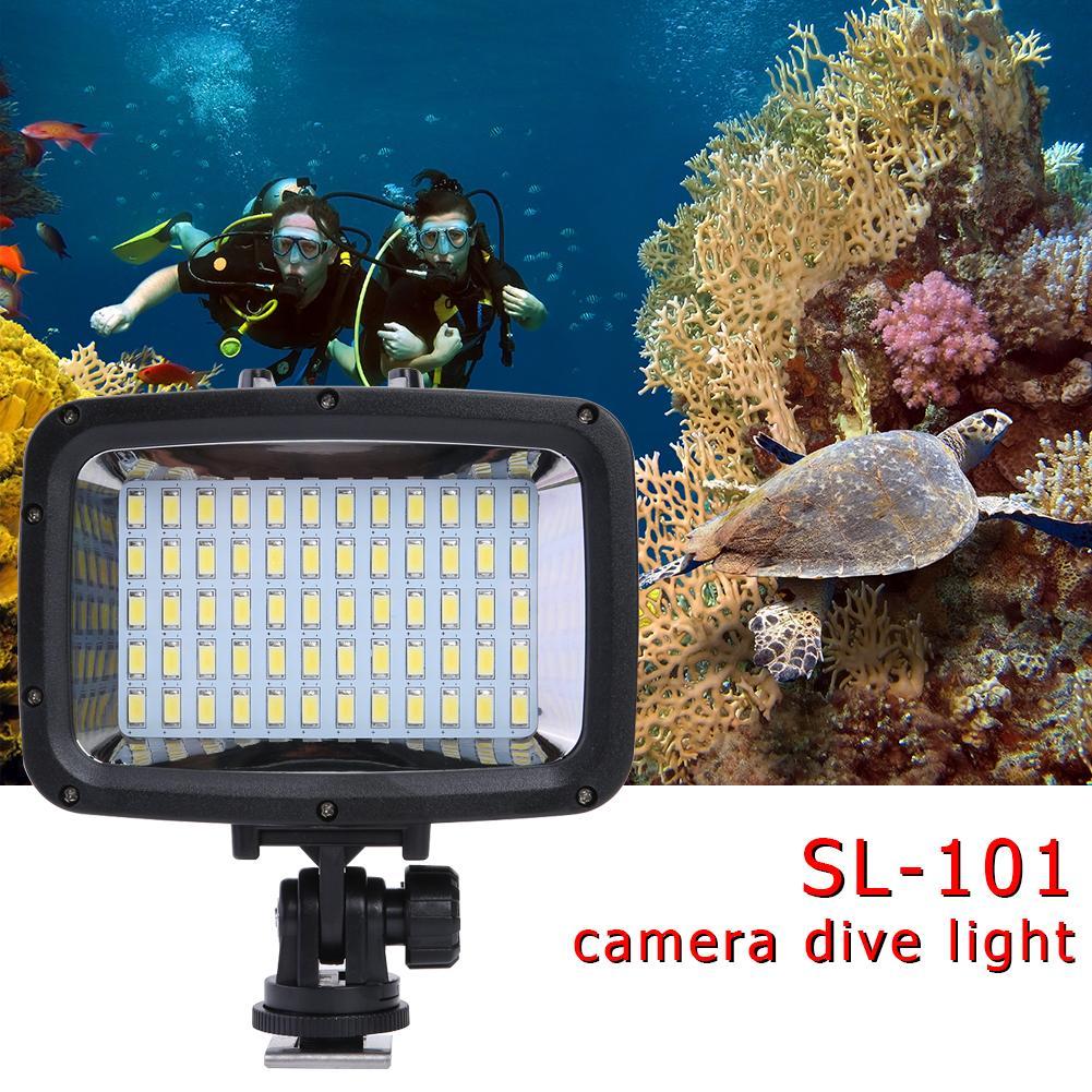 subaquático luz para gopro 3 4 photo studio acessórios