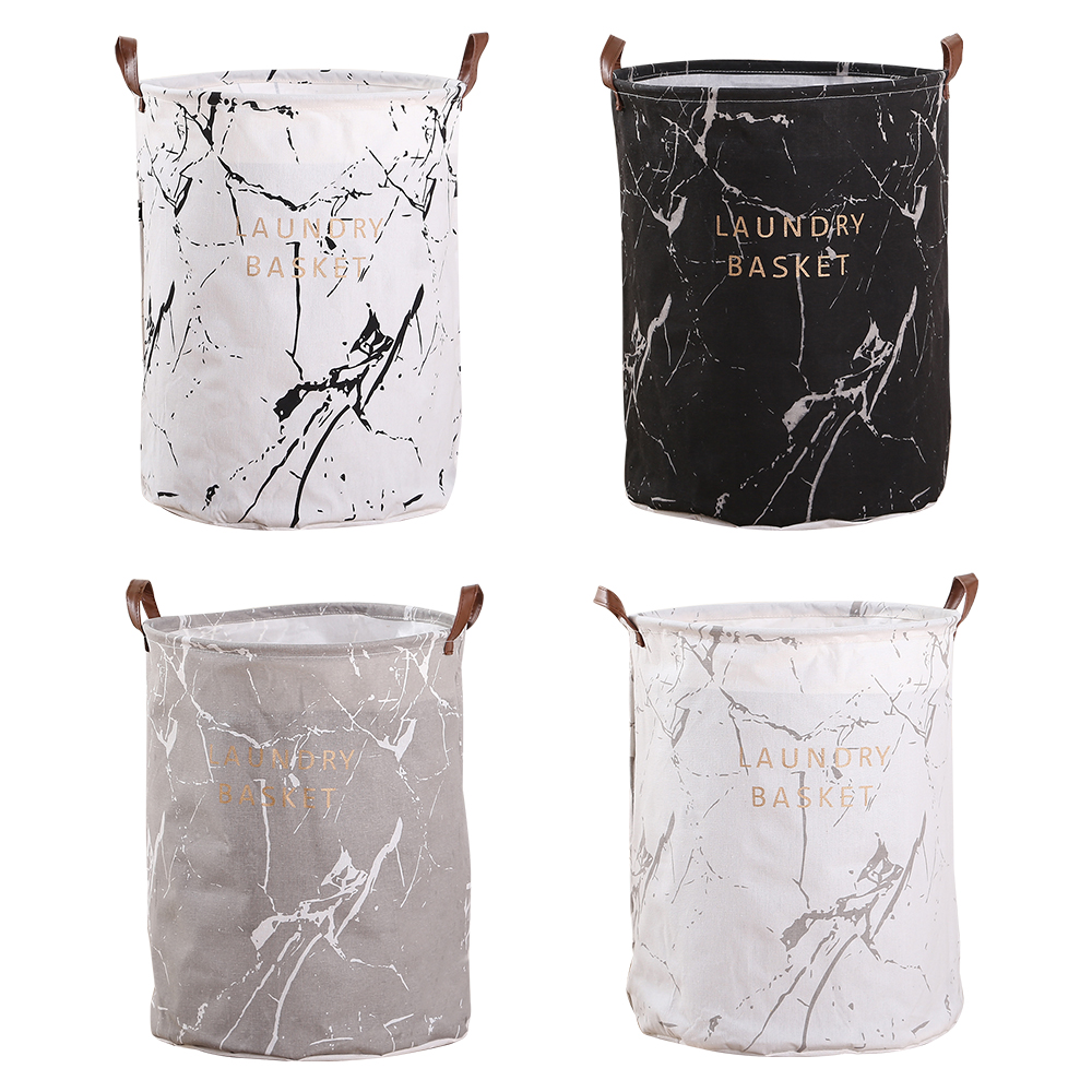 Large Foldable Dirty Laundry Basket Organizer Printed Collapsible Waterproof Home Laundry Hamper Sorter Laundry Basket 1pc