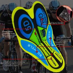 Image 5 - STRAVA Unisex Cycling Bib Shorts 2021 Summer MTB Bike Shorts Womens Mens Cycling Tights Racing Bib Shookproof Bicycle Trousers