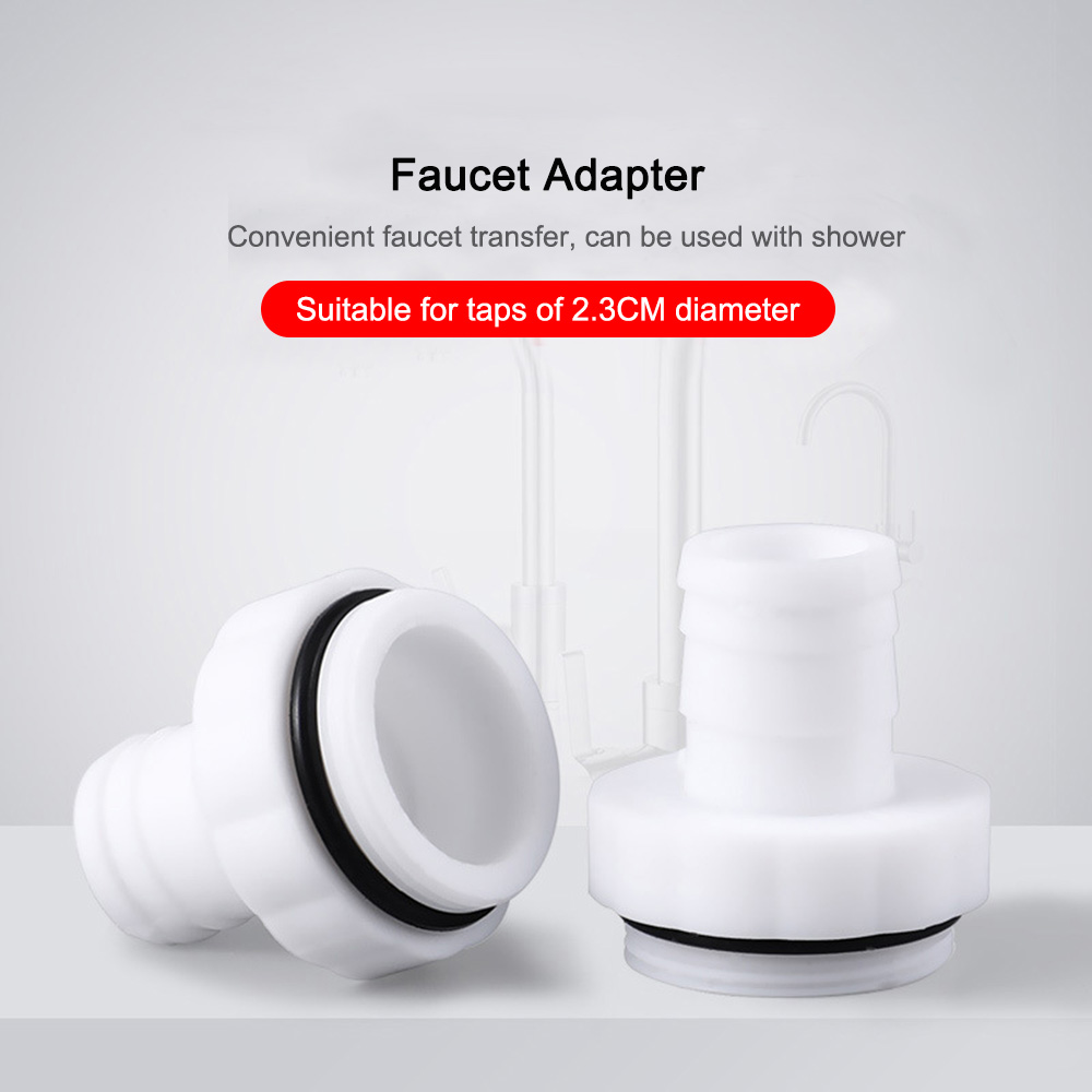 1pcs Versatile Kitchen Faucet Splash Head Adapter Universal Water Saving Splash Head Faucet Accessories Filter Outlet Water Tank