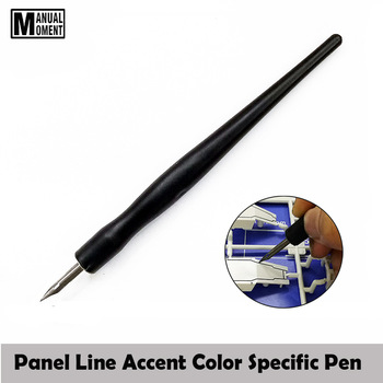 Model Panel Line Accent Color Specific Pen Avoid Scrubbing Infiltration Line Pen DIY Hobby Model Tool Accessory Model Building Kits TOOLS Brand Name: Manual Moment