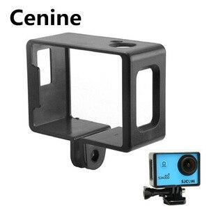 Image 1 - Sj4000 Aksesuarları iphone 4 için Plastik Çerçeve Sjcam Sj4000 Sj6000 Koruyucu Sınır Çerçeve Sjcam 4000 Wifi Spor Eylem Kamera