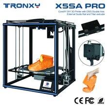 Tronxy X5SA פרו שקט כונן 3D מדפסת OSG כפול ציר חיצוני מדריך רכבת שולחן העבודה DIY ערכות טיטאן Extruder הדפסת TPU נימה