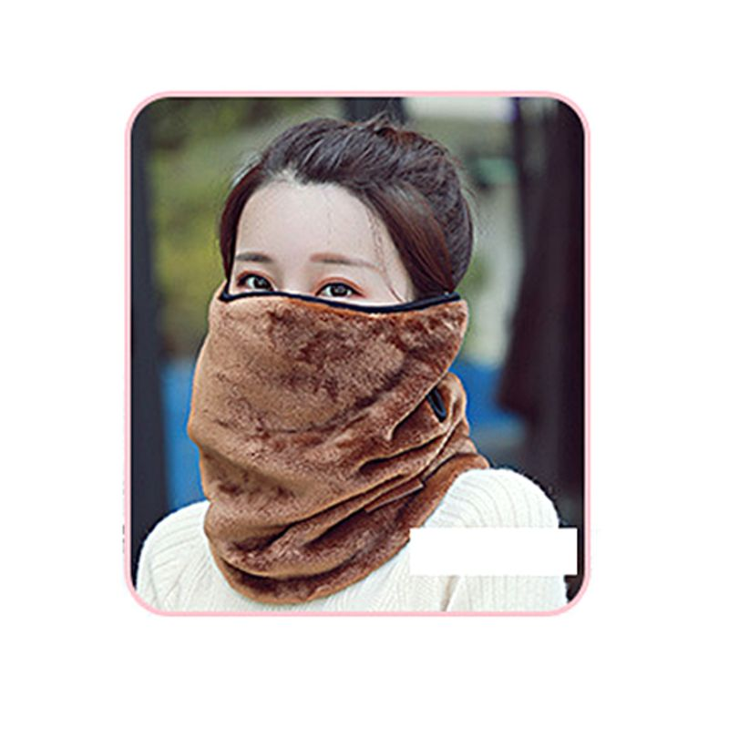 New Autumn And Winter Hanging Ear Type Women Riding Mask Thickening Multi-function 2-in-one Neck Warm Masks T4MB