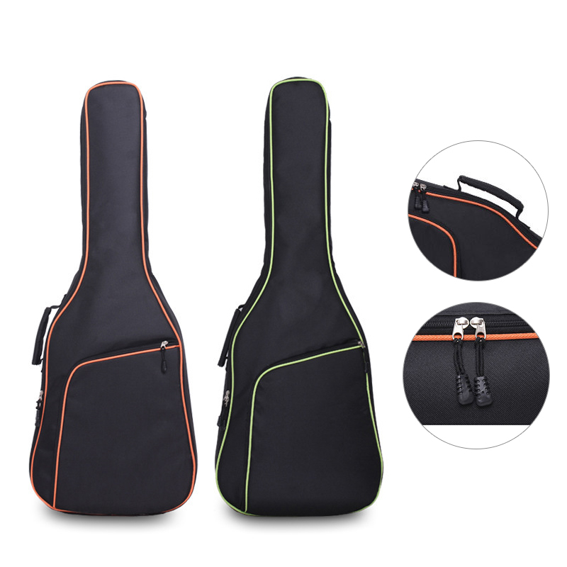 Oxford Fabric Acoustic Guitar Gig Bag Soft Case Double Shoulder Straps Padded Guitar Waterproof Backpack Colorful Gig Bag