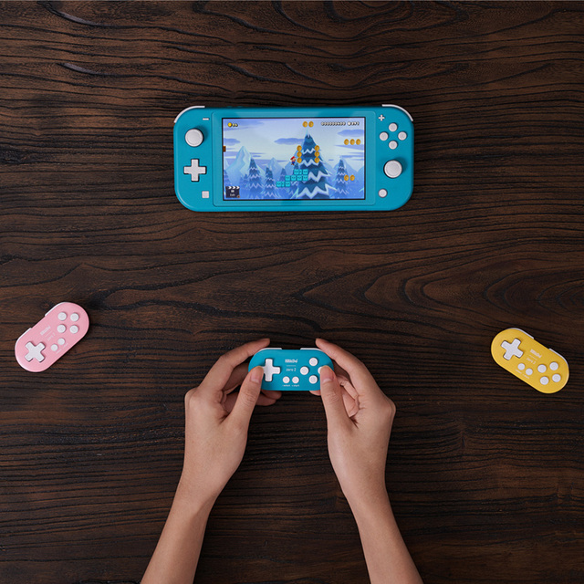 For 8BitDo ZERO 2 Wireless Bluetooth Mini Gamepad for  Switch NS/Windows/Android/MacOS  Game GamePad