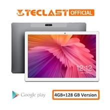 10.1 אינץ טבליות Teclast M30 4G Phablet 2560x1600 אנדרואיד 8.0 4GB RAM 128GB ROM MT6797 x27 Deca Core 7500mAh GPS Dual Wifi