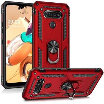 Перейти на Алиэкспресс и купить Защитный чехол-подставка для телефона LG K51, K50S, Q51, Stylo, 6, 5, K50, K40, Aristo 2, 3, 4, Q60
