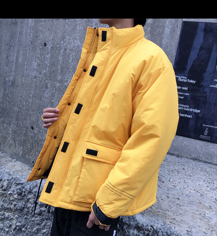Men's Quality Student Winter Clothes Jacket Men Parka Thick Warm Outwear Korean Youth Streetwear Hip Hop Japan Style Harajuku 18