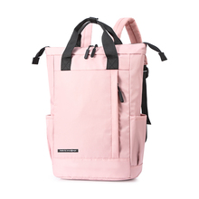Men and Women Leisure Backpack 2020 Capacity Fashionable High-quality Backpack  Backpack Black Pink Multifunctional Backpack leisure men s backpack with double buckle and black color design