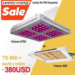 Mars Hydro TS 600W LED Grow Light Sunlike Full Spectrum Indoor Hydrocultuur Planten