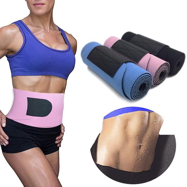 Adjustable Elastic Waist Support Belt Women Men Neoprene Lumbar Back Sweat Belt Fitness Belt Waist Safety Gym Belt Back Protect 2