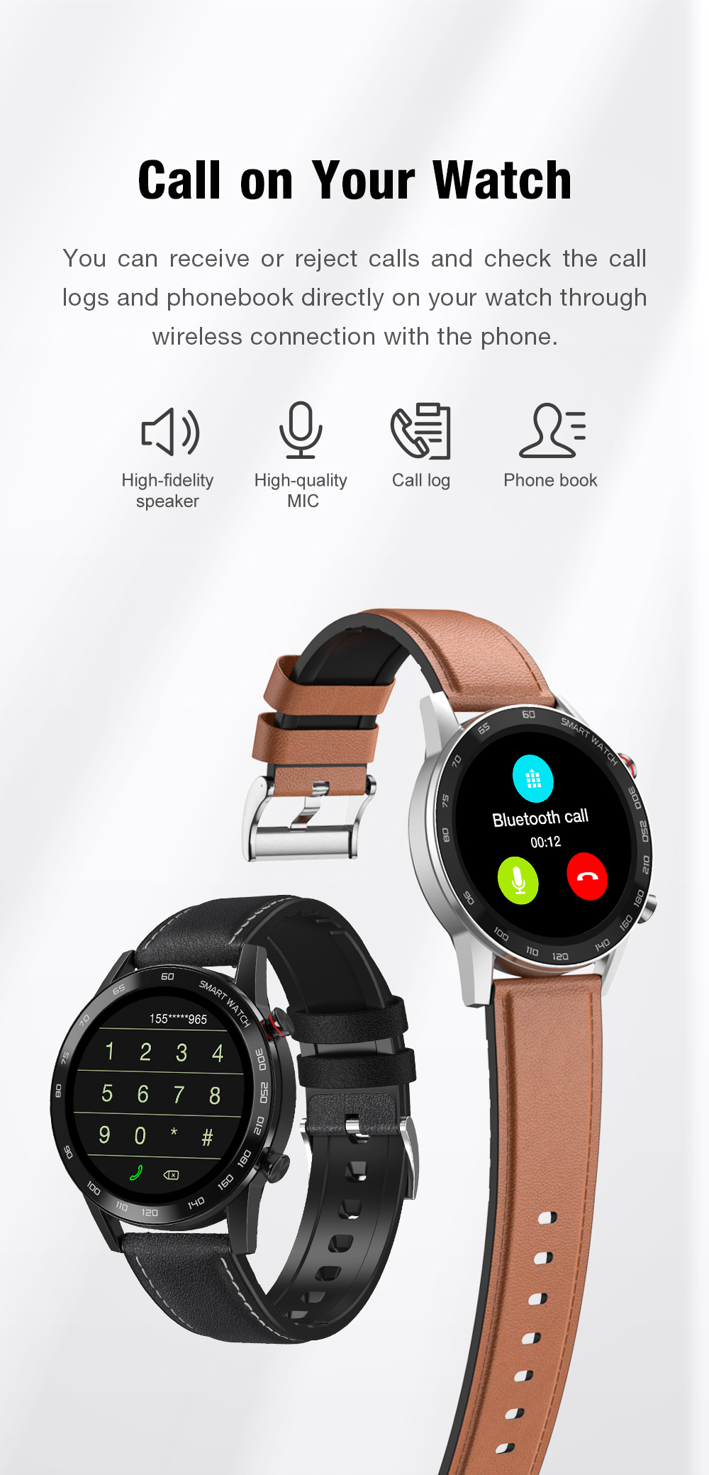 Ha62c7a976f014b29bd954a583d24422fB 2021 SANLEPUS ECG Smart Watch Dial Call Smartwatch Men Sport Fitness Bracelet Clock Watches For Android Apple Xiaomi