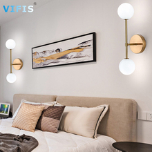 Nordic Minimalist Wall Lamp for Bedroom with G9 bulb Indoor Wall Light Fixtures  Wall Sconces Lighting for Bedside Cool White