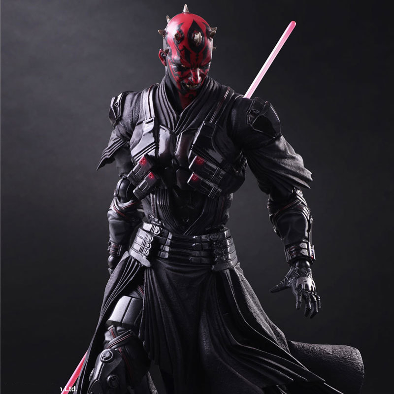 Star Wars: The Force Awakens Darth Maul 26cm Anime Figure Doll Collections Children Toys Gift 6