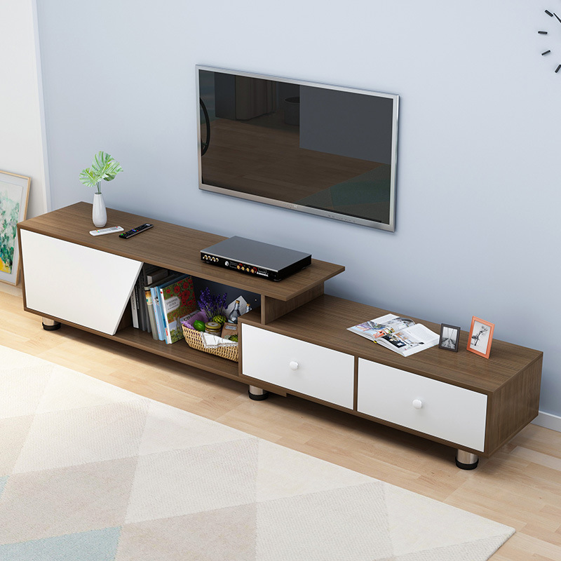 Northern European-Style Television Cabinet Teapoy Table Combination Modern Minimalist Living Room Bedroom Small Floor Cabinet Ne