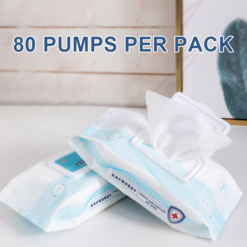 80pcs/pack Wipes Safe Hygiene Wet Wipes Skin Object Cleaning Protective Product For Toys Home Office New IK88