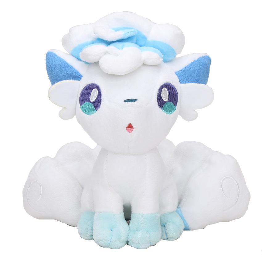 20cm Pokemon Plush Doll Alola Vulpix Plush Toy Stuffed Dolls Plush Doll Gifts for Children 2