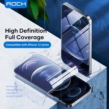 Protecteur décran ROCK pour iPhone 12 Pro Max, Film de protection complet en Hydrogel, peau transparente en TPU souple, pour iPhone 12 Mini/12