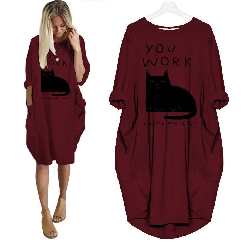You Work I Watch and Judge Plus Size T- Shirt